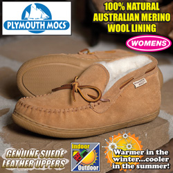 Plymouth Mocs Womens Chukka Slippers  Model# HL-S200L