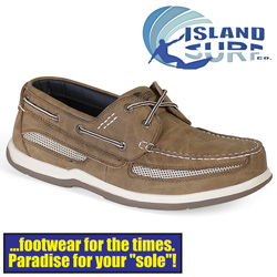 Island Surf Cod Boat Shoe  Model# 11011DBN