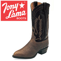 Tony Lama Chocolate Taurus Boots&nbsp;&nbsp;Model#&nbsp;6171C