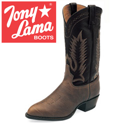 Tony Lama Chocolate Taurus Boots  Model# 6171C