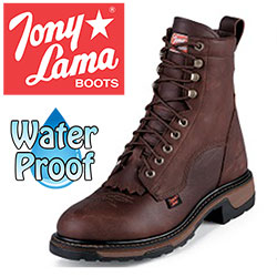 Tony Lama Briar Lace-Up Boots  Model# TW2006