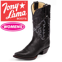 Womens Black Thorghbred Boots  Model# VF6000