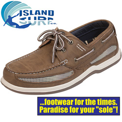 Island Surf Dark Brown Cod Shoes  Model# 11011DBN