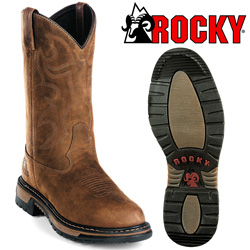 Rocky Branson Waterproof Roper Boots  Model# 2733