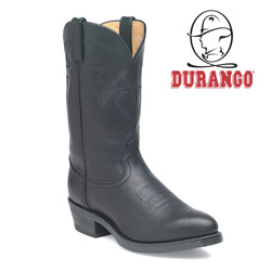 Durango Black Oiled Western Boots  Model# TR760