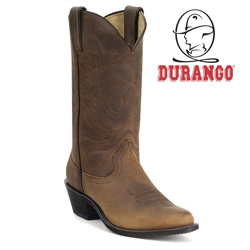 Durango Womens Tan Western Boots  Model# RD4112