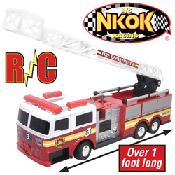 Remote Controlled Fire Engine With Lights  Model# 80961