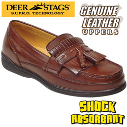 Deer Stags Dark Maple Peninsula Loafers  Model# PENINSULA - DK.MAPLE