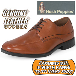 Hush Puppies Infrared Oxford Shoes  Model# INFRARED-TAN