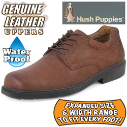 Hush Puppies Fiat Oxford Shoes  Model# FIAT-BROWN
