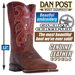 Dan Post Mad Cat Boots&nbsp;&nbsp;Model#&nbsp;DP2836