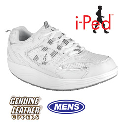 i-Ped White Fitness Shoe  Model# AT71001