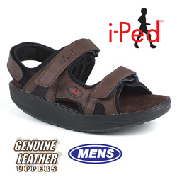 i-Ped Brown Fitness Sandal  Model# AT117096