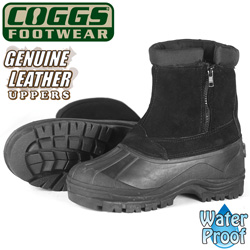 Coggs Black Winter Boots  Model# SB-0843BLK