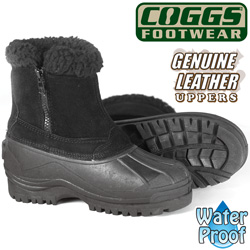 Coggs Black Womens Winter Boots  Model# SB-0842BLK