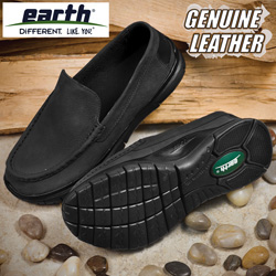 Earth Black ZMOC Shoes&nbsp;&nbsp;Model#&nbsp;ZMOC-BLACK