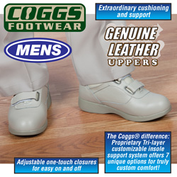 Coggs Tan Mens Care Shoes&nbsp;&nbsp;Model#&nbsp;OUHAI15908TAN