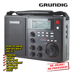Grundig Field Radio  Model# NGS450DLB-RB