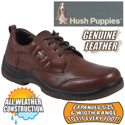 Hush Puppies Brown Stamina Shoes  Model# H11584