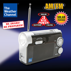 Weather Channel Emergency Radio  Model# H640-WC