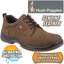 Hush Puppies Tan Stamina Shoes&nbsp;&nbsp;Model#&nbsp;H11583