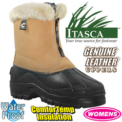 Womens Tan Comfort Temp Boots  Model# A91649-TAN