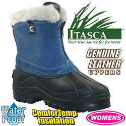 Womens Denim Comfort Temp Boots  Model# A91649-DENIM