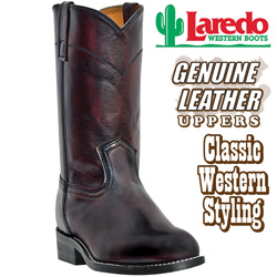 Laredo Black Cherry Boots  Model# 6908