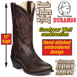 Durango Tobacco Boots&nbsp;&nbsp;Model#&nbsp;DB4214