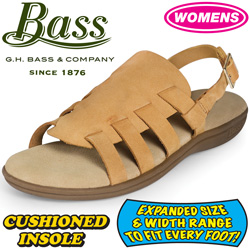 Bass Womens Tan Sandals  Model# KATHY-TAN