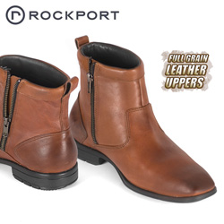 Rockport Teshlar Brown Half Boot&nbsp;&nbsp;Model#&nbsp;K54479