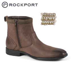 Rockport Teshlar Dark Brown Half Boot&nbsp;&nbsp;Model#&nbsp;K55041