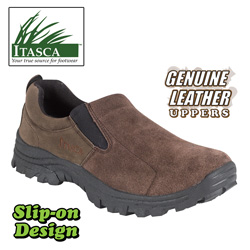 Itasca Excursion Slip-Ons&nbsp;&nbsp;Model#&nbsp;223600-BROWN
