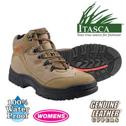 Itasca Womens Hiking Boot  Model# 452585-BRAZIL HIKE