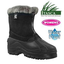 Womens Black Tahoe Boots&nbsp;&nbsp;Model#&nbsp;A202775-BL/A91649-BL