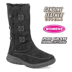 Womens Black Winter Boots  Model# 806995