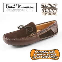 Ernest Hemingway Permit Moccasins&nbsp;&nbsp;Model#&nbsp;SP100558W