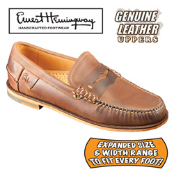Ernest Hemingway Penny Loafers  Model# SP10017