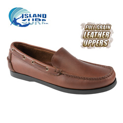Island Surf Newport Boat Shoe  Model# 11006BRN NEWPORT