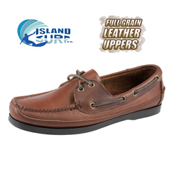 Island Surf Vineyard Boat Shoe  Model# 1101BRN VINEYARD