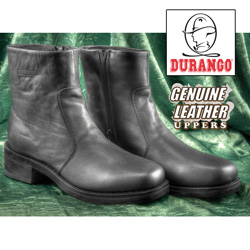 Durango Black Side-Zip Boots  Model# SW2940
