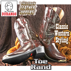 Durango Brushed Black Cherry Boot  Model# TR755