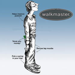 Walkmaster Power Shoe  Model# POWER-BLACK