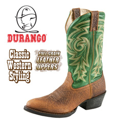 Durango Green Western Boots  Model# DB5486