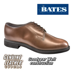 Bates Brown Oxfords  Model# E000082D