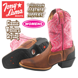 Tony Lama Stallion Boot  Model# ST1006
