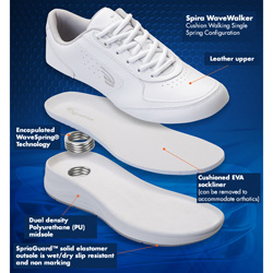 White Spira Wave Walkers  Model# WWAVEW1C-WW
