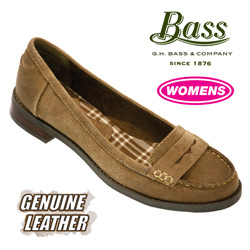 Bass Penny Loafer - Sand&nbsp;&nbsp;Model#&nbsp;BROOKFIELD-BLACK SAND