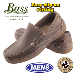 Bass Taft Slip-Ons  Model# TAFTCOF