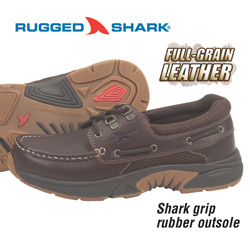 Rugged Shark Boat Shoes  Model# ATLANTIC